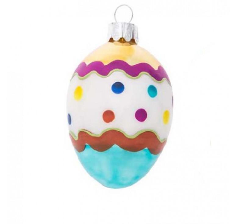 """Подвеска яйцо """"Многоточие"""" S 39276"""