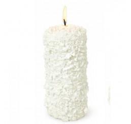 Свеча цилиндр белый 64834