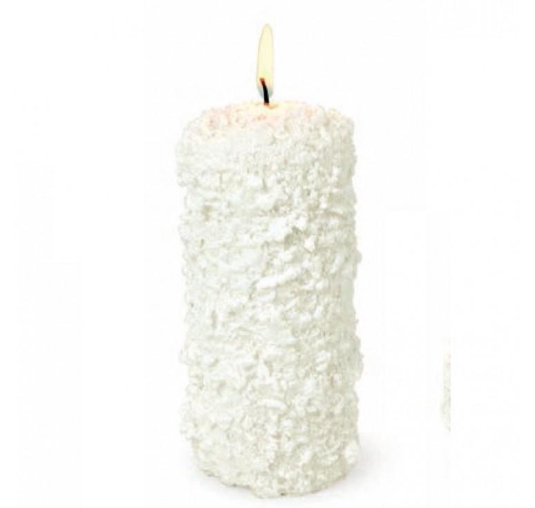 Свеча цилиндр белый 64835