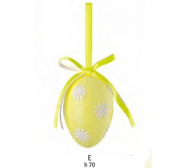 Пасхальное яйцо жёлтое 65271