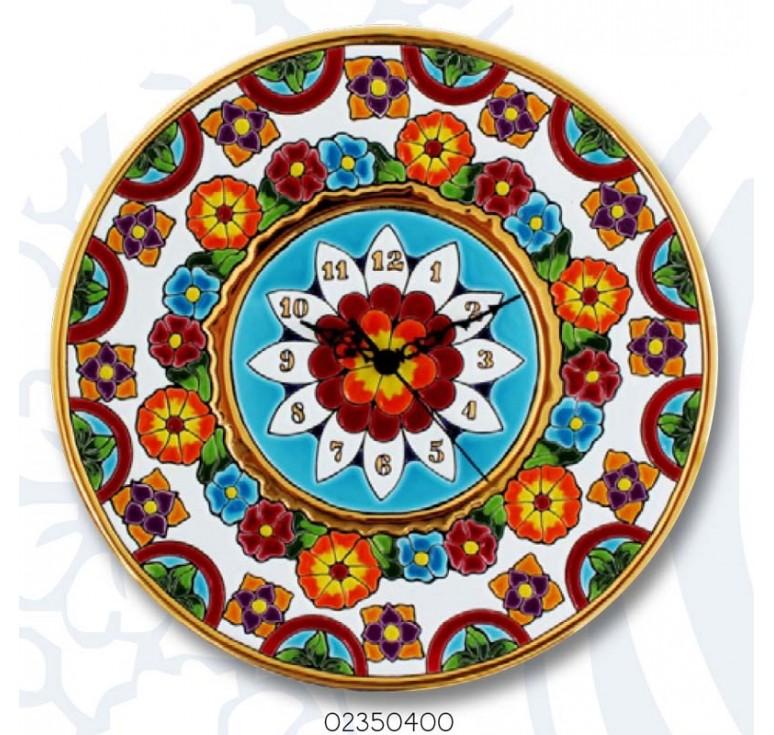 Тарелка-часы О2350400