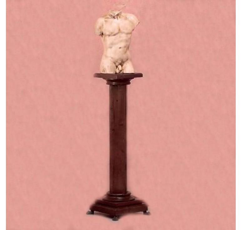 Декоративная деревянная колонна-подставка apanni 3505 (Италия)
