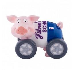 Копилка Свинка на колесах 75585