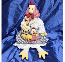 Курица с цыплятами AIL-11623