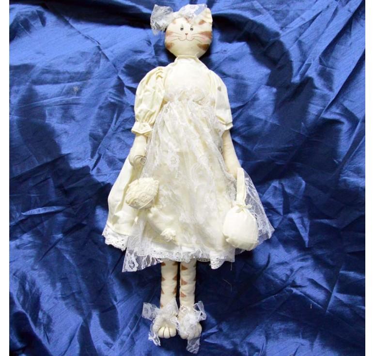 Кошка с зонтом AIL-13660