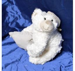 Мишка с подушкой XIN-71007
