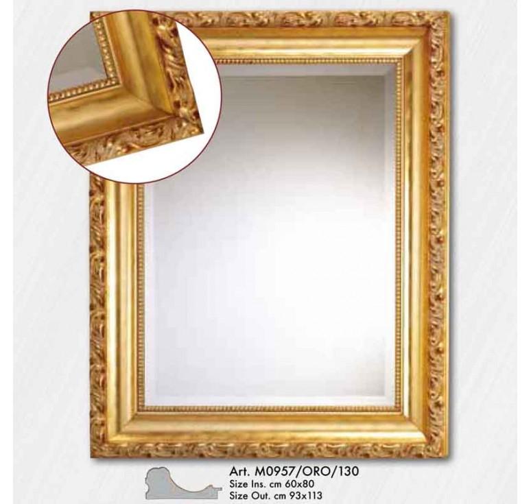 Зеркало с фацетом M0957/ORO/130