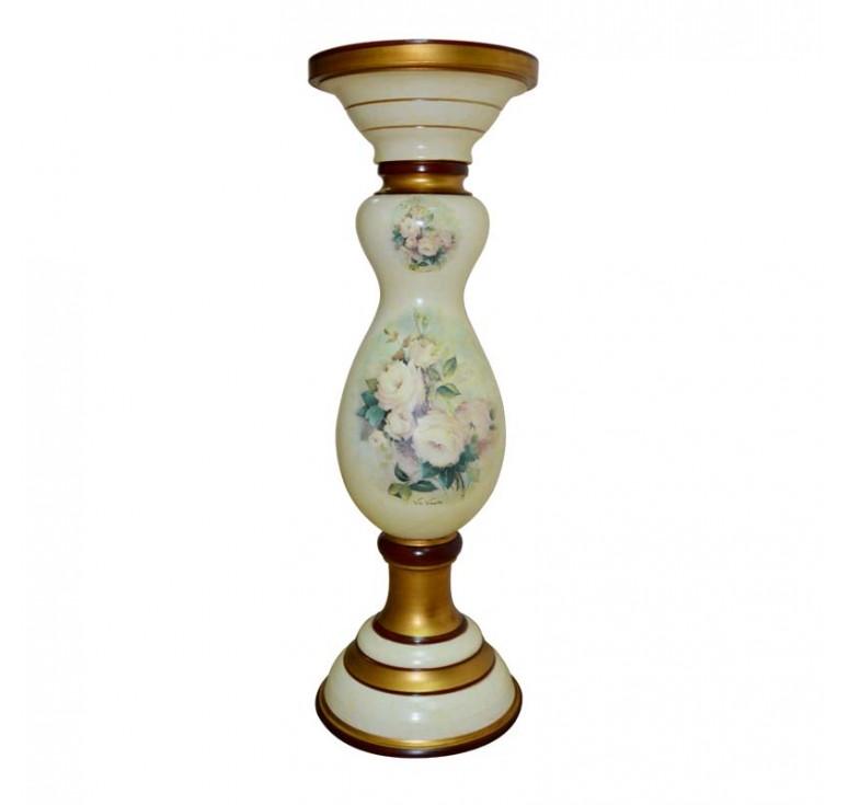 Декоративная керамическая колонна-подставка Vesuviana К10552/619 (Италия)