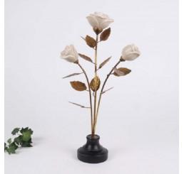 Металлический цветок 2350.403