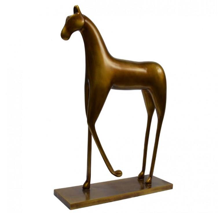 Статуэтка лошадь А033 brown BM