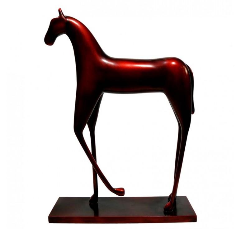 Статуэтка лошадь А033 old red