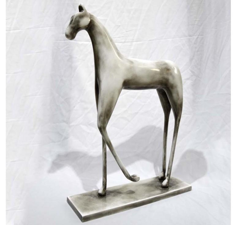Статуэтка лошадь А033 old white