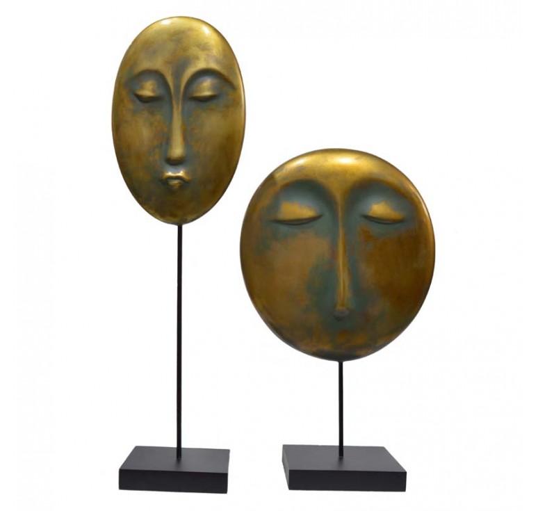 Скульптура Лицо А056 moss brown