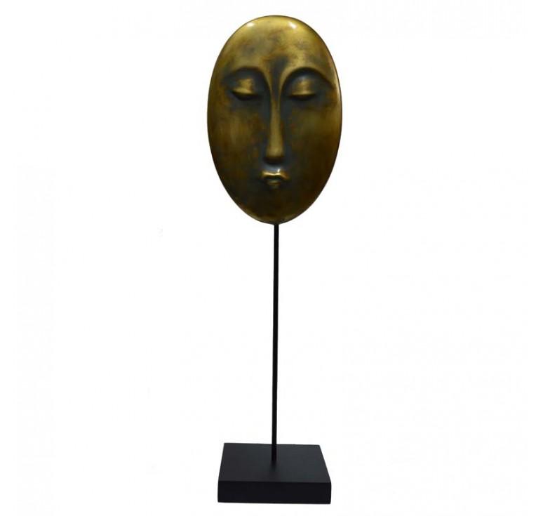 Скульптура Лицо А057 moss brown
