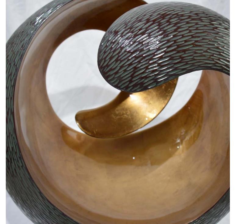 Статуэтка локон А076 copper brown 01