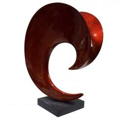 Статуэтка волна А134 red