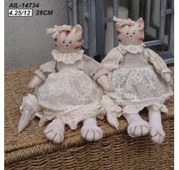 Кошки в платьицах AIL-14734