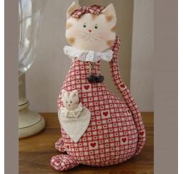 """Блокиратор двери """"кошка с сердцем"""" AIL-14809"""