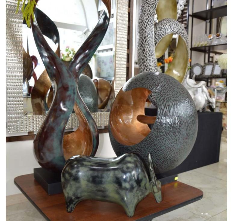 Статуэтка Вдохновение А143 copper brown 01