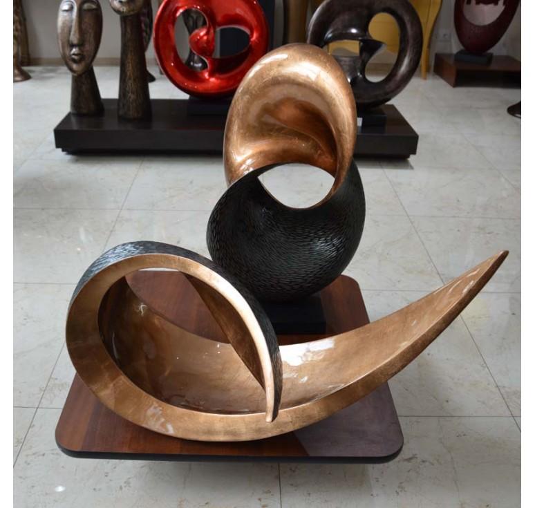 Статуэтка элегант А122 copper brown