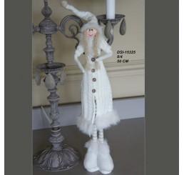Кукла в вязанном пальто DSI-15325