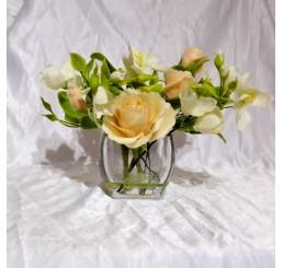 Композиция розы с жасмином CF005