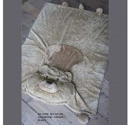"""Одеяло-подушка """"медвежонок"""" RIC-15794"""